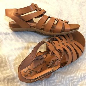 BareTraps brown sandals